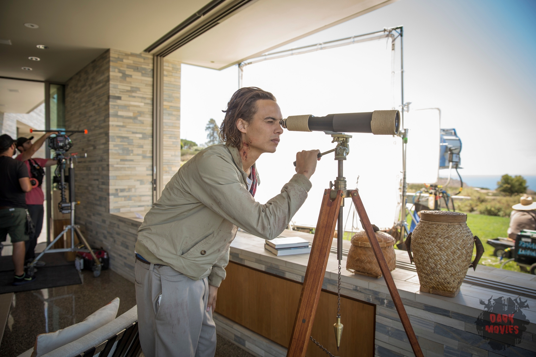 Frank Dillane as Nick - Fear The Walking Dead _ Season 1, Episode 6 - Photo Credit: Justina Mintz/AMC