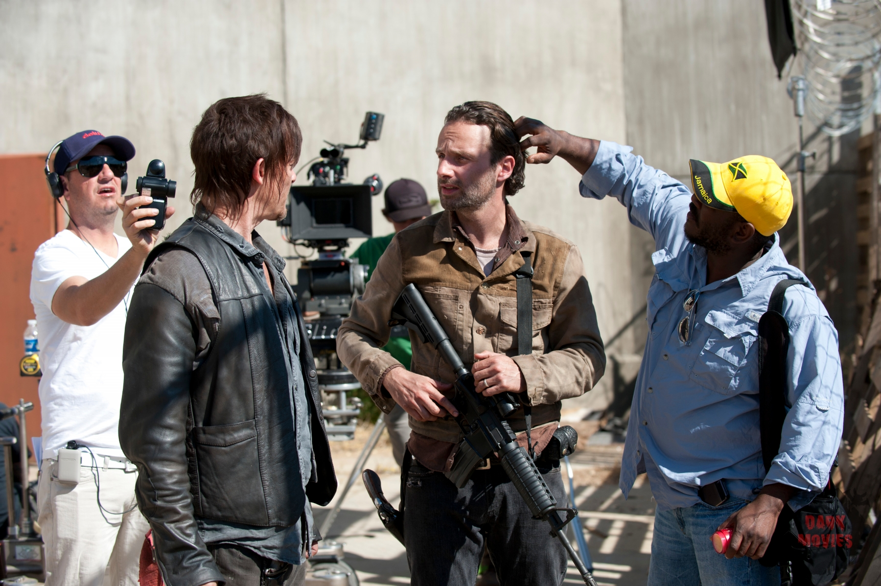 Daryl Dixon (Norman Reedus) and Rick Grimes (Andrew Lincoln) - The Walking Dead - Season 3, Episode 15 - Photo Credit: Gene Page/AMC