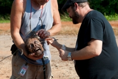 Jake Garber and Kevin Wasner - The Walking Dead _ Season 4, Episode 4 - Photo Credit: Gene Page/AMC