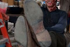 The Governor (David Morrissey) - The Walking Dead _ Season 4, Episode 8 _ BTS - Photo Credit: Gene Page/AMC