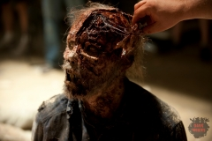 Walker - The Walking Dead _ Season 4, Episode 1 _ BTS - Photo Credit: Gene Page/AMC