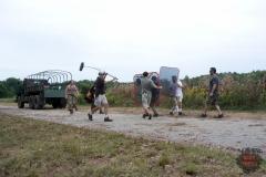 Abraham (Michael Cudlitz) - The Walking Dead _ Season 4, Episode 11 _ BTS - Photo Credit: Gene Page/AMC