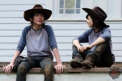 Carl Grimes (Chandler Riggs) - The Walking Dead _ Season 4, Episode 9 - Photo Credit: Gene Page/AMC