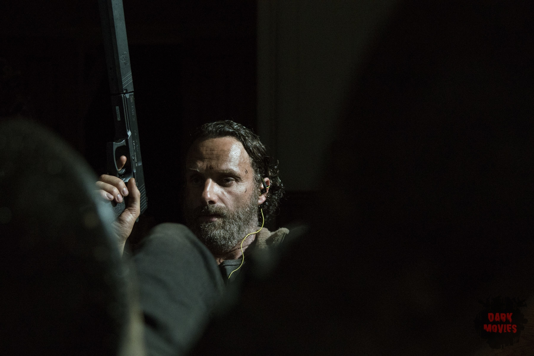 Andrew Lincoln - The Walking Dead _ Season 5, Episode 3 _ BTS - Photo Credit: Gene Page/AMC