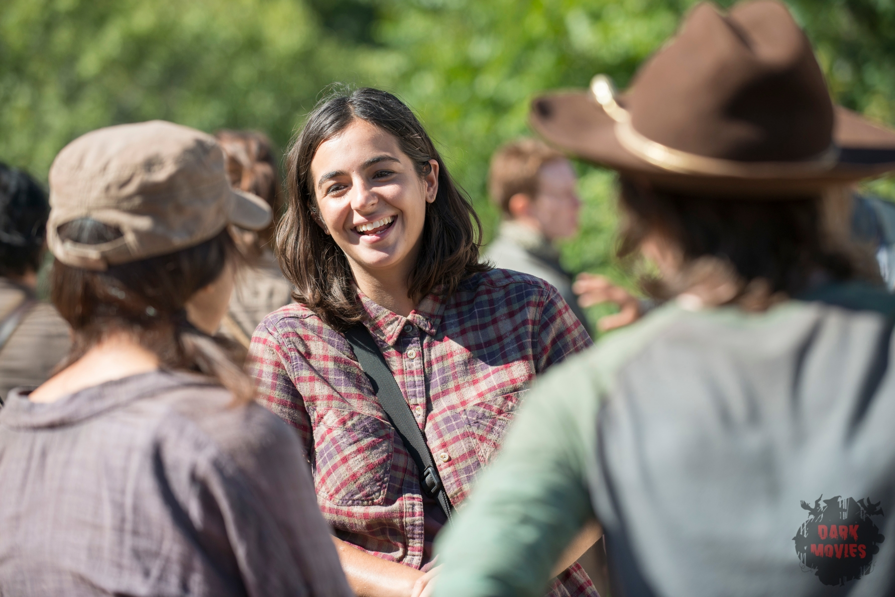 Alanna Masterson - The Walking Dead _ Season 5, Episode 12_ BTS - Photo Credit: Gene Page/AMC