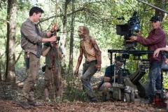 - The Walking Dead _ Season 5, Episode 12 _ BTS - Photo Credit: Gene Page/AMC