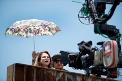 Tovah Feldshuh as Deanna - The Walking Dead _ Season 5, Episode 5 _ BTS - Photo Credit: Gene Page/AMC
