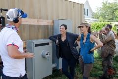 Alanna Masterson as Tara Chambler and Christian Serratos as Rosita Espinosa - The Walking Dead _ Season 6, Episode 8 - Photo Credit: Gene Page/AMC