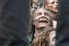Greg Nicotero as Walker - The Walking Dead _ Season 6, Episode 3 _ BTS - Photo Credit: Gene Page/AMC