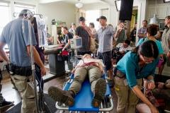 Michael E. Satrazemis Director of Photography - The Walking Dead _ Season 6, Episode 2 - Photo Credit: Gene Page/AMC