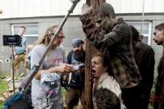 Greg Nicotero - The Walking Dead _ Season 6, Episode 7 - Photo Credit: Gene Page/AMC