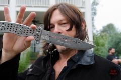 Norman Reedus as Daryl Dixon - The Walking Dead _ Season 6, Episode 12 - Photo Credit: Gene Page/AMC