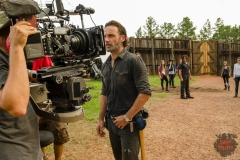 BTS, Andrew Lincoln as Rick Grimes- The Walking Dead _ Season 7, Episode 8 - Photo Credit: Gene Page/AMC