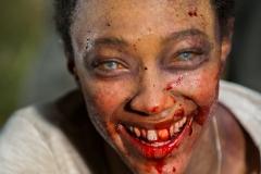 Sonequa Martin-Green as Sasha Williams- The Walking Dead _ Season 7, Episode 16 - Photo Credit: Gene Page/AMC