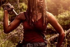 Danai Gurira as Michonne- The Walking Dead _ Season 9, Gallery- Photo Credit: Victoria Will/AMC
