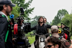 BTS, Norman Reedus as Daryl Dixon, Andrew Lincoln as Rick Grimes- The Walking Dead _ Season 9, Episode 4 - Photo Credit: Gene Page/AMC